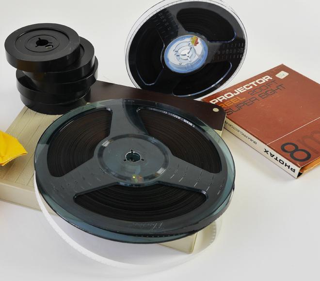 8mm-Film-Reels